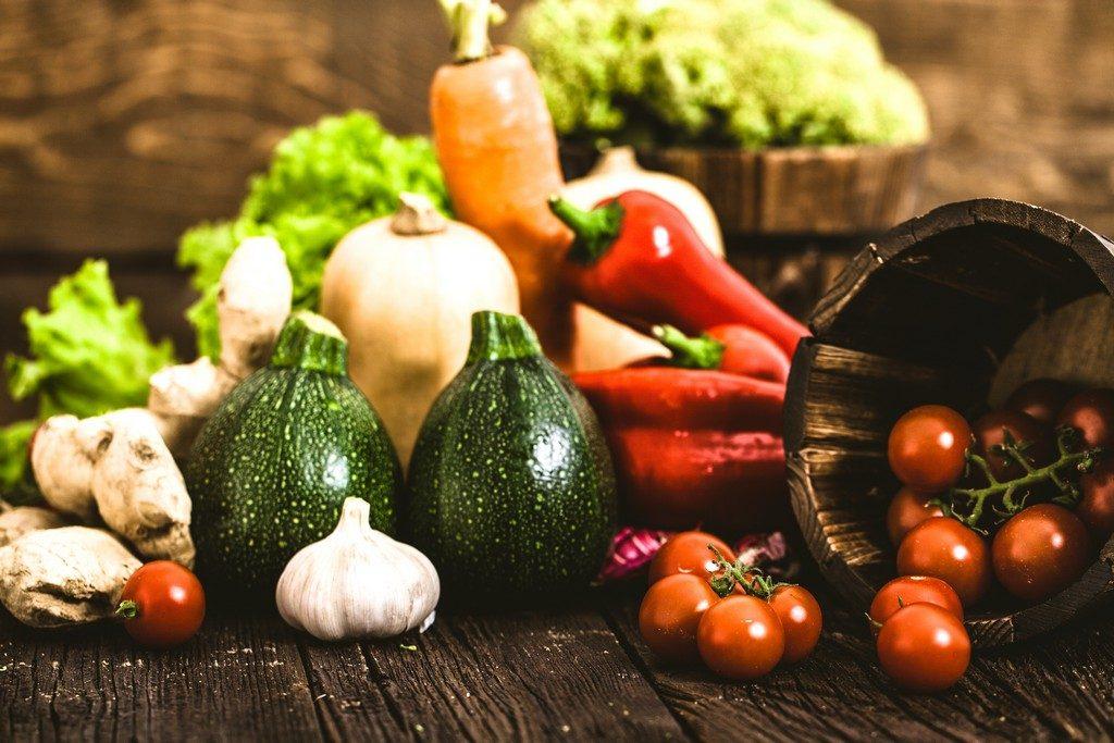 Actual Lifestyle Fresh Organic Vegetables